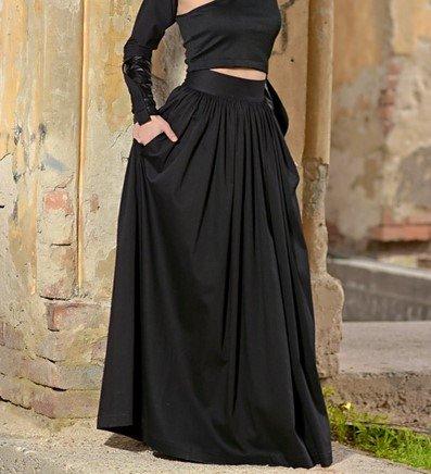 reproducción de falda victoriana