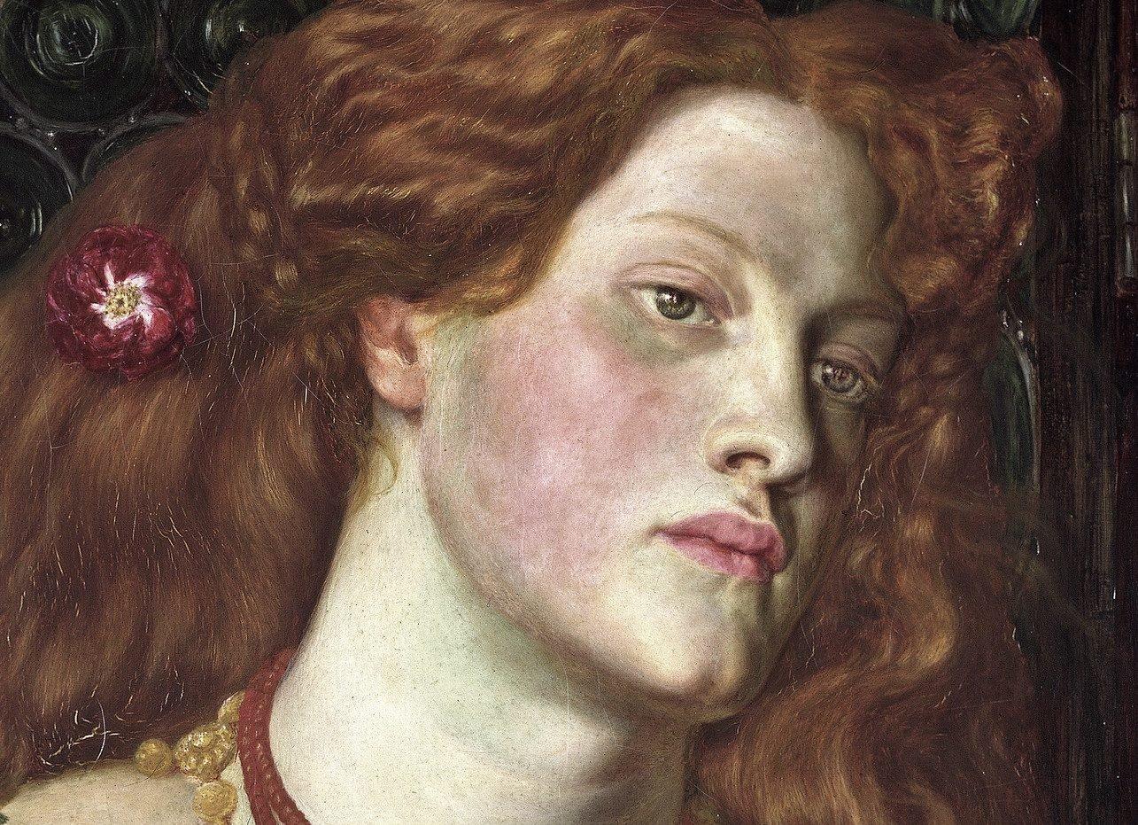 Fair Rosamund, Dante Gabriel Rossetti, 1861
