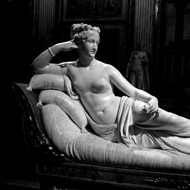 Paolina Borghese Bonaparte come Venere vincitrice