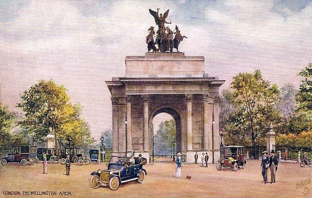 Wellington Arch en el Londres victoriano