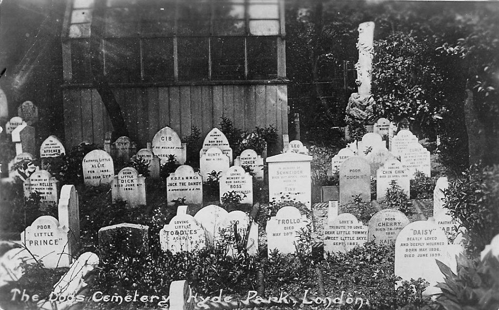 Cementerio mascotas Hyde Park