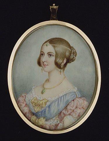 La reina Victoria de joven