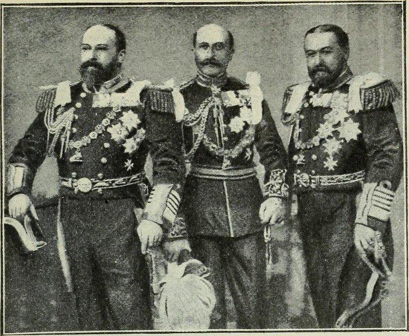 Hijos de la reina Victoria Eduardo, Arturo y Alfredo